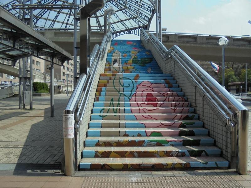 写真5 完成した階段